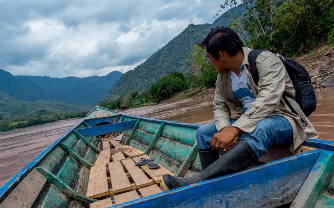 Nina Chocolate - River Huallaga in Chazuta